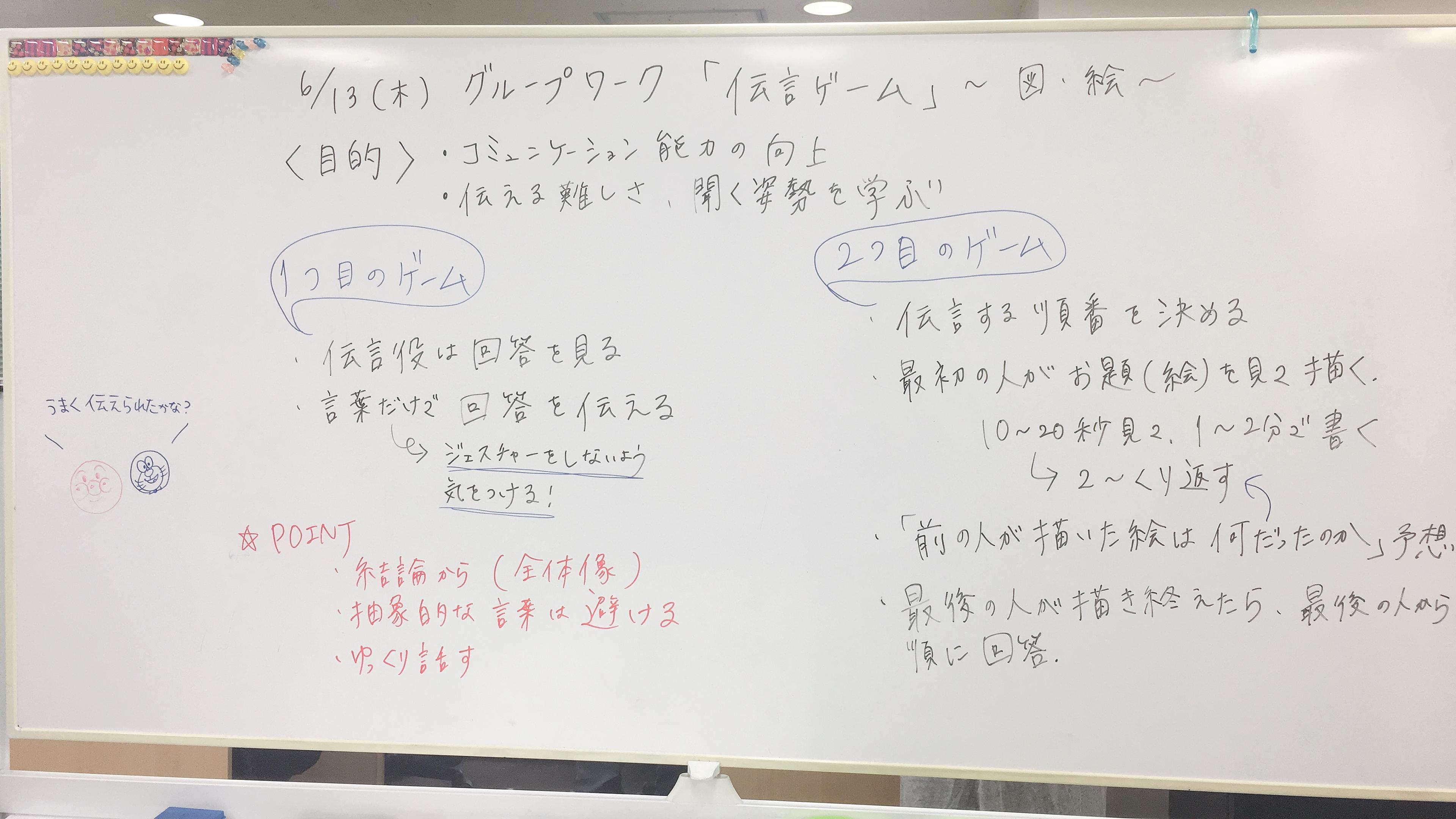 就労移行支援事業所リンクス松戸のグループワーク